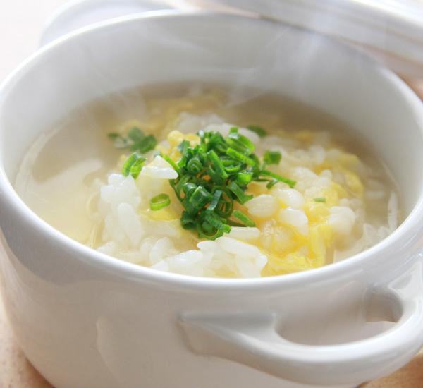 Soupe de riz ojiya