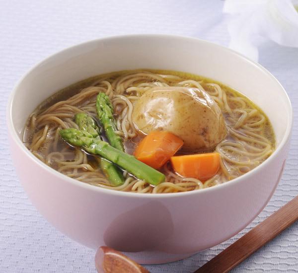 Zuppa di Shirataki al Curry