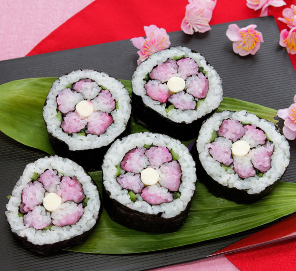 ひな祭り花寿司