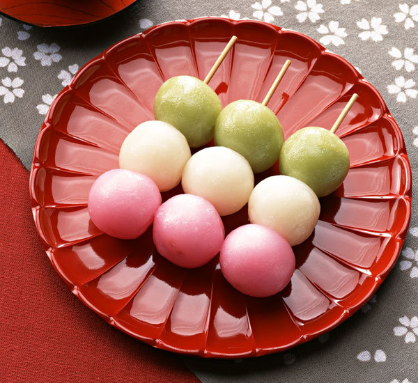 Three Colour Dango Dumplings