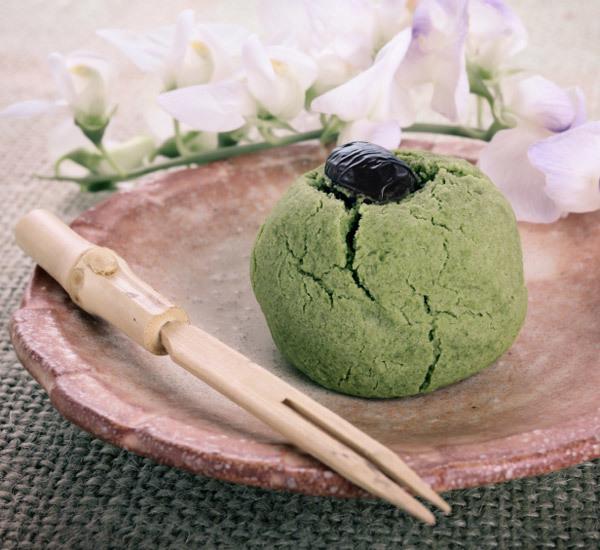 Matcha Manju Tea Cake