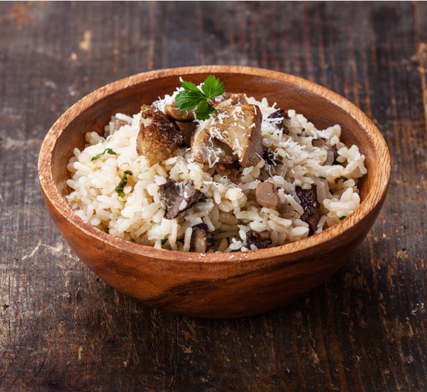 Shiitake Mushroom And Thyme Baked Risotto Recipe Japan Centre